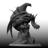 Fell beast sculpt by mrpeculiar