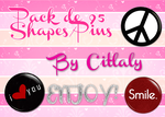 Pack de Pins png by LovesickEditions