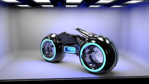 TRON Lightcycle Model by dye-the-eye