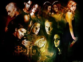 Buffy the Vampire Slayer by mitchie-v