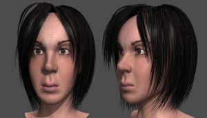 Lilliana in 3D by newhere
