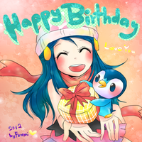 Happy Birthday To My Sister~~ by Foxmi