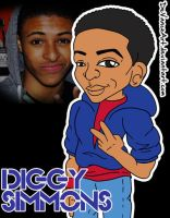 Diggy Simmons by DeVanceArt