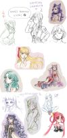 Sketchdump101113 by nuxi-chan