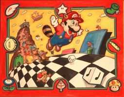 I give you ... SUPER...MARIO...BROTHERS...THREE! by DannyNicholas