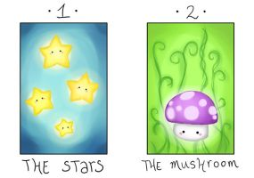 The Stars and The Mushroom by fuyumiko