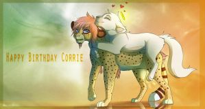 Happy Birthday Corrie! by Kitchiki