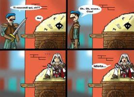Assassin's Creed 2 Idiot by Tippy-The-Bunny