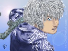 Jack Frost (colored) by Kazami-Girl
