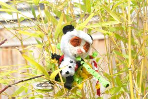 Panda Teemo Reporting for Duty by Leo-tux