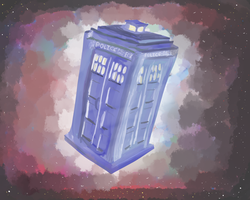 TARDIS by superevilgenius