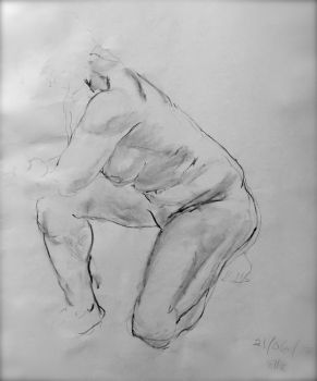 Life drawing 21/06/17 2 by ellie-lucy