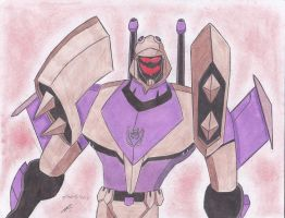 sexy Random Blitzwing transformers animated by ailgara