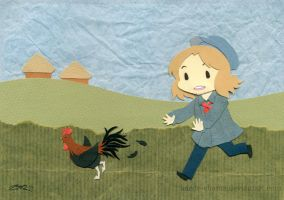 aph: catch that coq by Kaede-chama