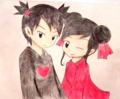 pucca y garu anime by kary22
