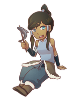 little Korra by rainbox17