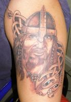 Viking Tattoo by Inkcastle