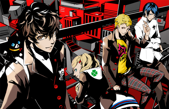 Persona 5: The Heart Stealers by OXMiruku
