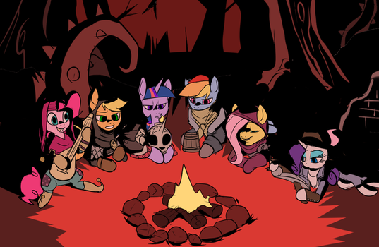 Darkest Ponies by Metal-Kitty