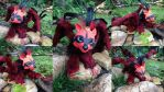 Mordrel - Poseable Raccoon Dragon by SonsationalCreations