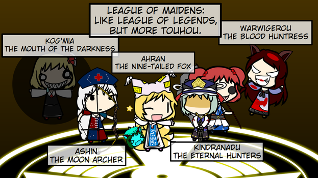 League of Maidens: When I lack imagination by TheTanuki
