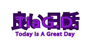 Today Is A Great Day Logo by hi2tai