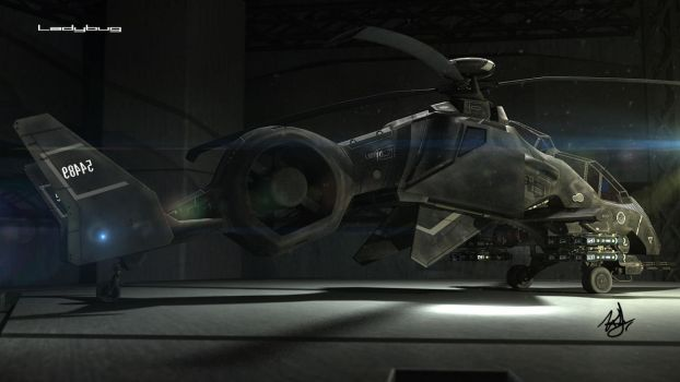 Ladybug attack helicopter 1 by wilzoon