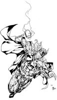 Thor - Muady inks by SpiderGuile
