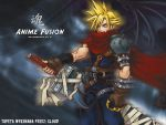 FF wallpaper for Anime Fusion by CloudBarret