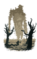 Ruthless Colossus - Pixel Art by Yaguete