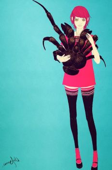Coconut Crab by somefield