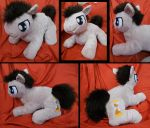 Dr. Whooves Custom Plushie by sophiecabra