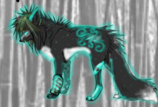 Breedable Scene Wolf by vampirevenessa