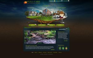 Full Care Lawncare web design by Stephen-Coelho