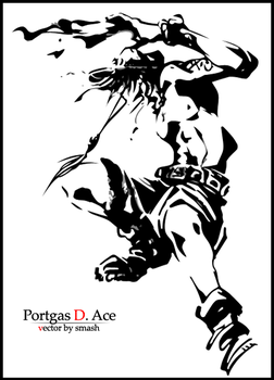 Portgas D. Ace by smashmatt