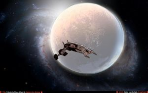 A tribute to Mass Effect 2 by Dragfindel