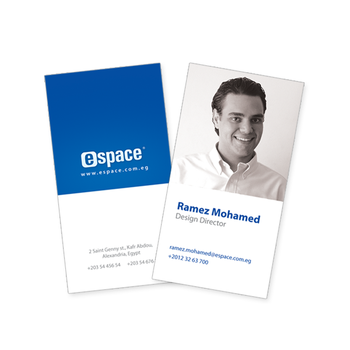 eSpace Business Cards by ramezmohamed