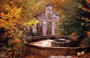 The Old Ghostly Mill by MichelLalonde