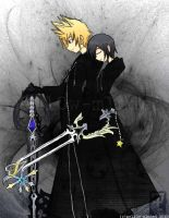 KH- A Parting Gift ver.2 by mell0w-m1nded
