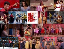 West Side Story Collage by JackieStarSister