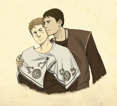 Marcus x Esca by Cain-the-Smexy