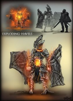 Exploding Havels by vempirick