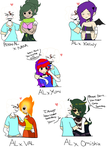Crack Couples with Al~ by Ask-AlphonseRabbit