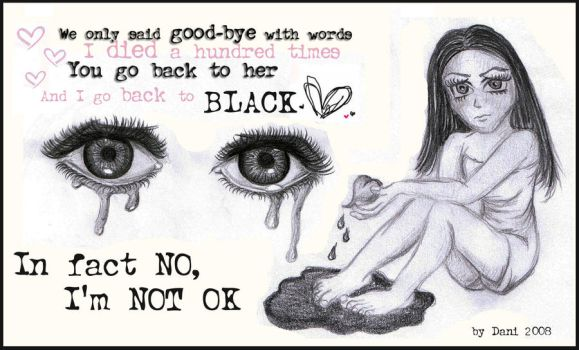 My tears dry on their own by Snoopybabe