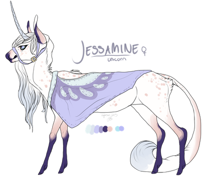 Jessamine ref by CoyoteSoot