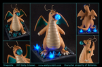 Commission : Dragonite by emilySculpts