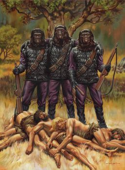 Planet of the Apes: Trophies by jasonedmiston