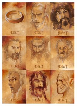 The Hobbit: An Unexpected Journey (part 2) by studiomia