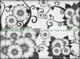 vector floral brushes1 by coolwing