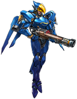 Pharah - Overwatch by PlanK-69